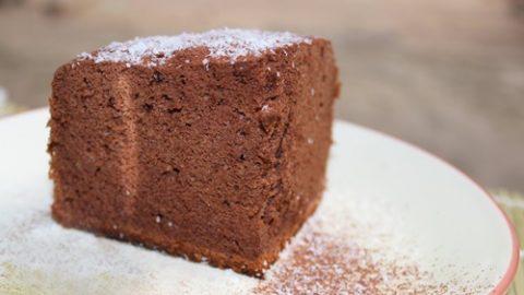 Bánh bông lan socola review