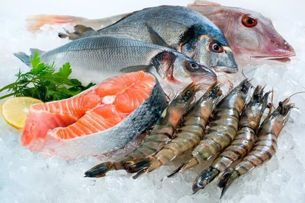 Hải sản là những thực phẩm giàu canxi