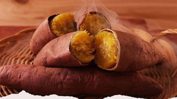 Trong khoai lang có chứa nhiều tinh bột