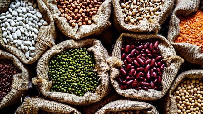 Các loại đậu rất giàu chất đạm, lại ít cholesterol