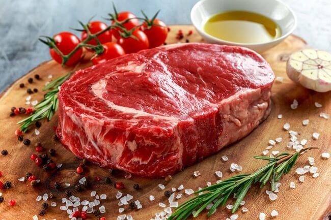 Thịt bò cung cấp nhiều protein và sắt cho cơ thể