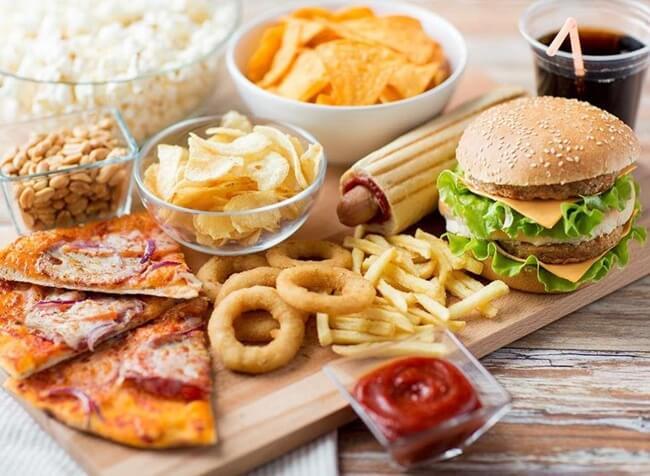 Thức ăn nhanh là kẻ thù của người tập gym
