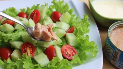 Salad cá ngừ review