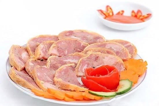 Món thịt nguội thành phẩm